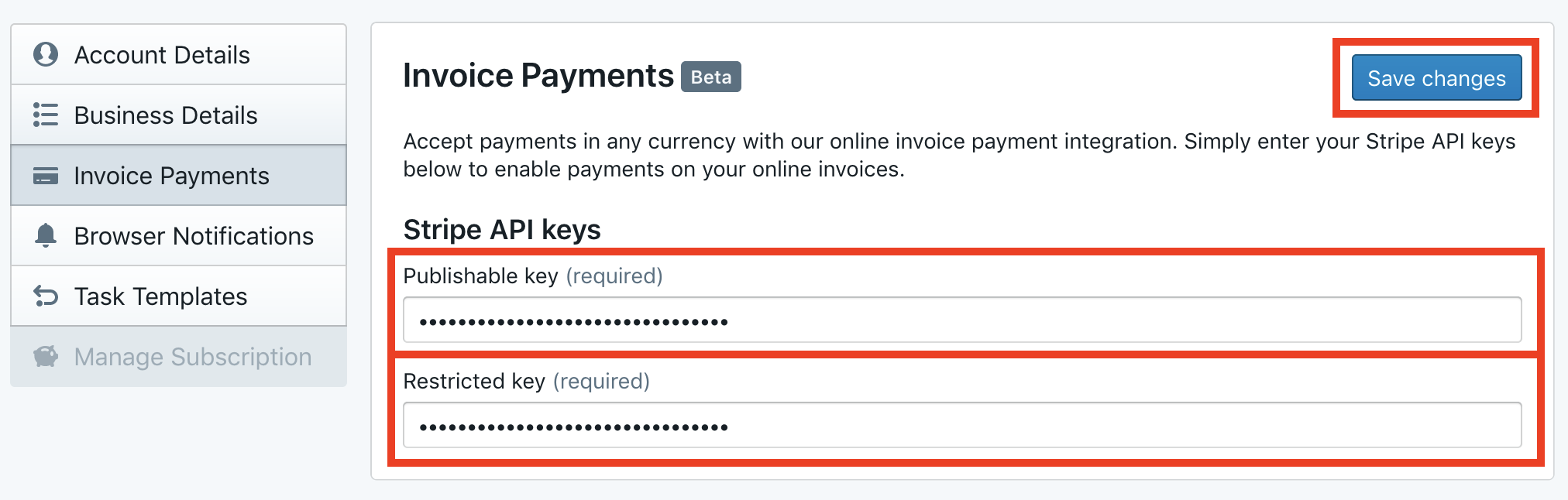 Invoice Payments | RemoteOne Guide